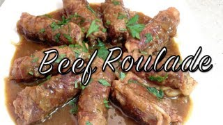 Beef Roulade Video Recipe Cheekyricho