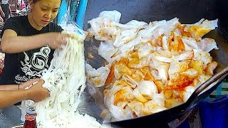 Amazing Strong Woman Fast Cooking Noodle for 1000people