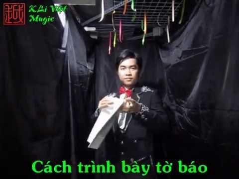 [Hướng Dẫn] Xé báo kiểu hình thoi, cơ bản - KLi Việt Magic