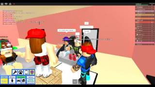 ROBLOX adventures: ROBLOX High School/playing truth or dare/im acting like a baby/friends