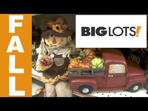 Big Lots FALL Shop with Me!