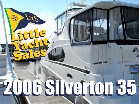 2006 Silverton 35 Motor Yacht for sale at Little Yacht Sales, Kemah Texas