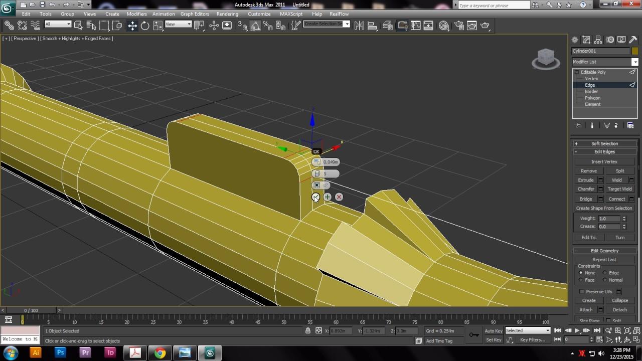 3d Modeling Of Rpg Gun 3dsmax Tutorial Youtube Kaos Welder Welding 3dimensi