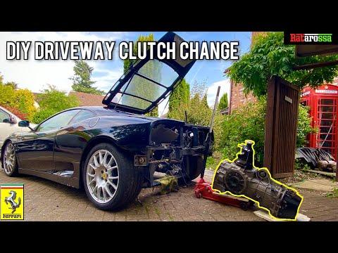 DIY Ferrari 360 Driveway Clutch Replacement Saves Thousands