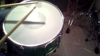 Remo C.S dot coated snare Head