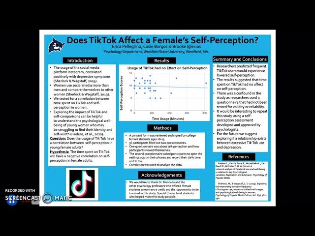 Does Tik Tok Affect a Female's Self-Perception?
