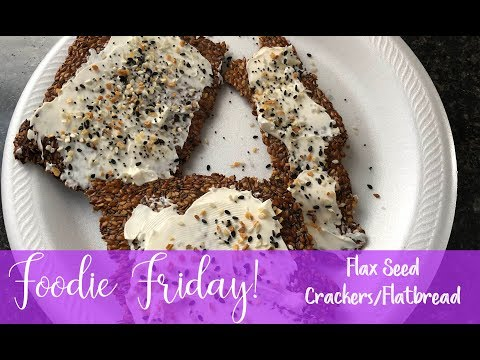 flax-seed-flatbread:crackers