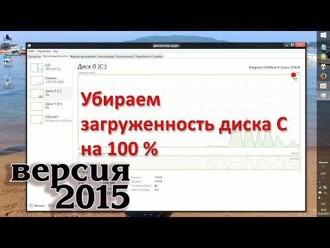 (2015) Ускоряем Windows 8 и убираем 100% загруженность диска