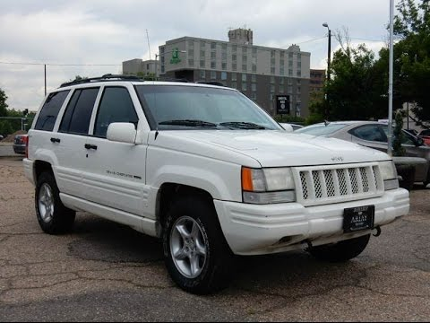 1998 jeep grand cherokee 5 9l limited v8 4x4 youtube. Black Bedroom Furniture Sets. Home Design Ideas