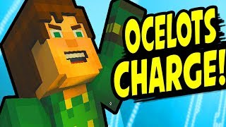 OCELOTS CHARGE! or ILL TALK TO HIM Alternative Choices - Minecraft: Story Mode Season 2 Episode 5