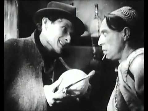 """Louis Jouvet et Jean-Louis Barrault dans """"Salonique, nid d'espions"""" (1937)"""