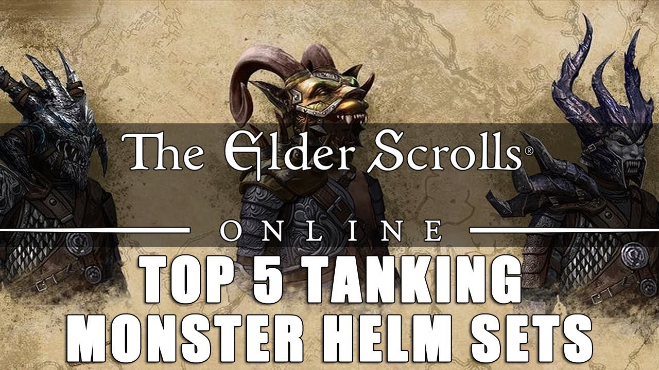 Elder Scrolls Online: Top 5 Tanking Monster Helm Sets