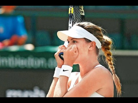 Eugenie Bouchard VS Angelique Kerber Highlight (WC) 2014 QF