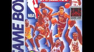 NBA All Star Challenge Game Boy