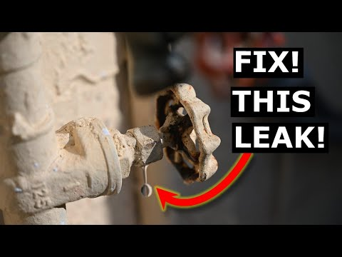 How To Fix Leaking Shut Off Valve FAST DIY – Avoid Plumber