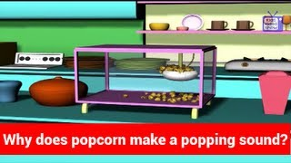 Question and Answers - Why Does Popcorn Make A Popping Sound - Tell Me Why - Kids Most Asked Why?