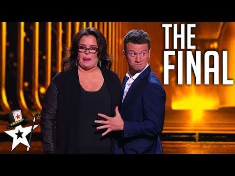 Magician Shocks Guest Rosie O'Donnell on Stage | Magician's Got Talent