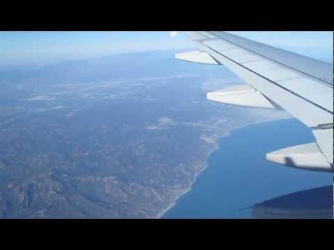 Descending & landing into Long Beach California Airport