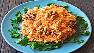 Салат из моркови🥕Диетические рецепты🥗 салата с морковью