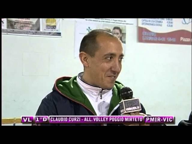 Interviste Poggio Mirteto vs APD Vico