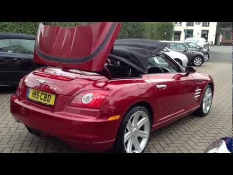 CHRYSLER Crossfire 3.2 V6, 2 Doors, Manual, Convertible SOLD BY CMC-Cars