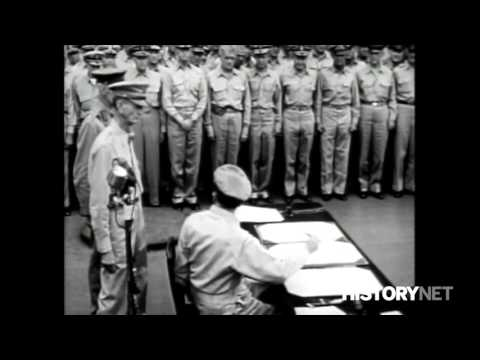 WWII- Surrender of the Empire of Japan