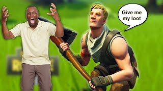 I Bullied A Grown Man On Fortnite (TOXIC???)