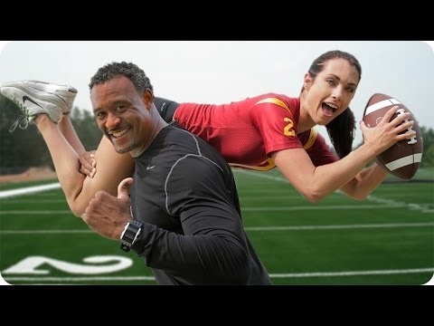 Football Drills for SPEED & AGILITY with Superbowl Champion Willie McGinest | Autumn Fitness