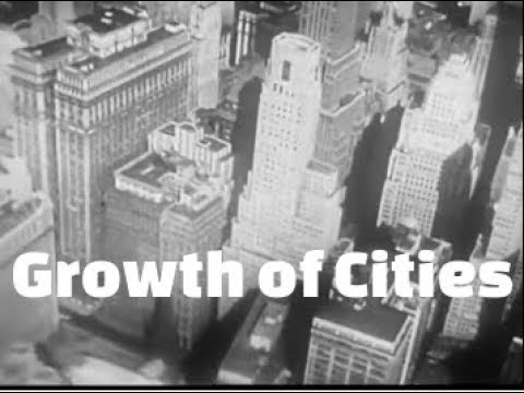 Growth of Cities - The History of American Metropolitan Areas
