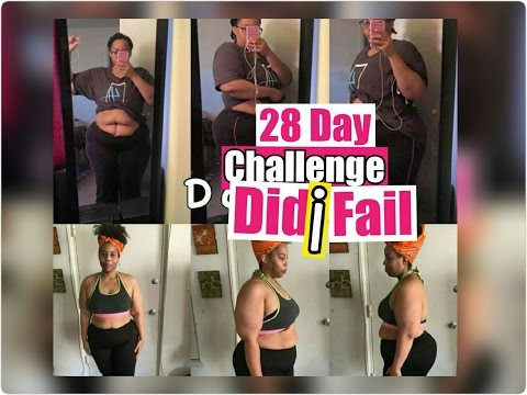 Final 28 Day Challenge Results  // Did I Fail  //Laavasmom