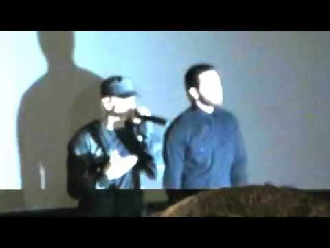 Eminem and Jake Gyllenhaal Surprise Fans at Detroit Advance Screening of SOUTHPAW