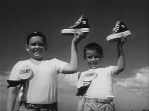 U S Keds Shoes The Shoe Of Champions 1950's TV Commercial HD