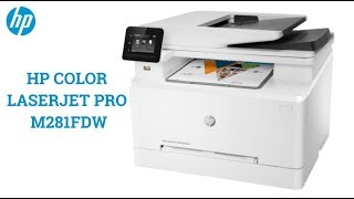 HP COLOR LASERJET PRO M281FDW Driver Review and Specification