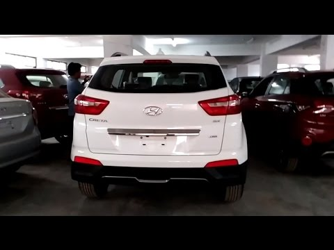 Hyundai Creta White Color 2016 2017 Top End Model india More On Description