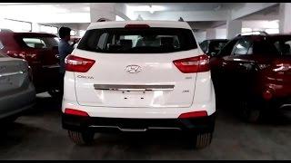 Hyundai Creta White Color 2015 Top End Model | india | More On Description