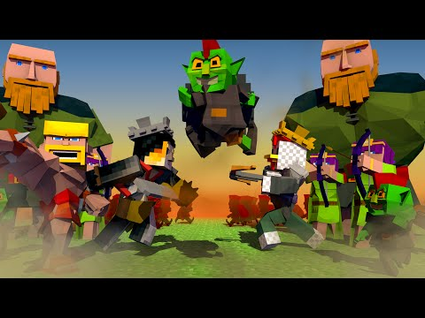 Thumbnail: Clash of Clans Movie Animated! (Minecraft Animation)