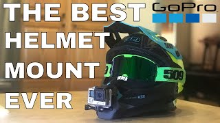 HOW TO: the BEST WAY to mount your GoPro to your helmet!!