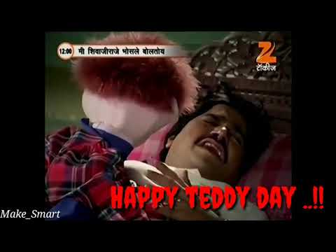 Tatya vinchu | teddy day special what's app status series #26 by make smart.