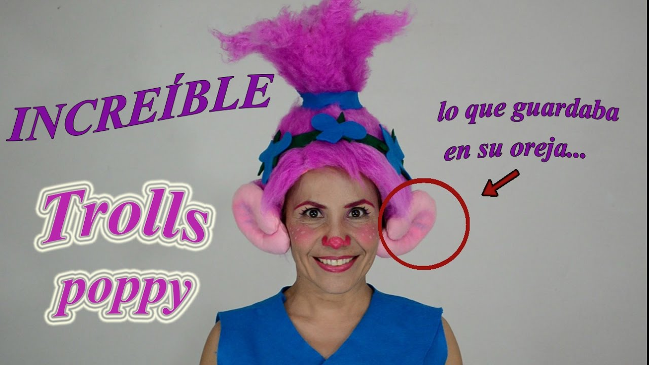 maquillaje de troll