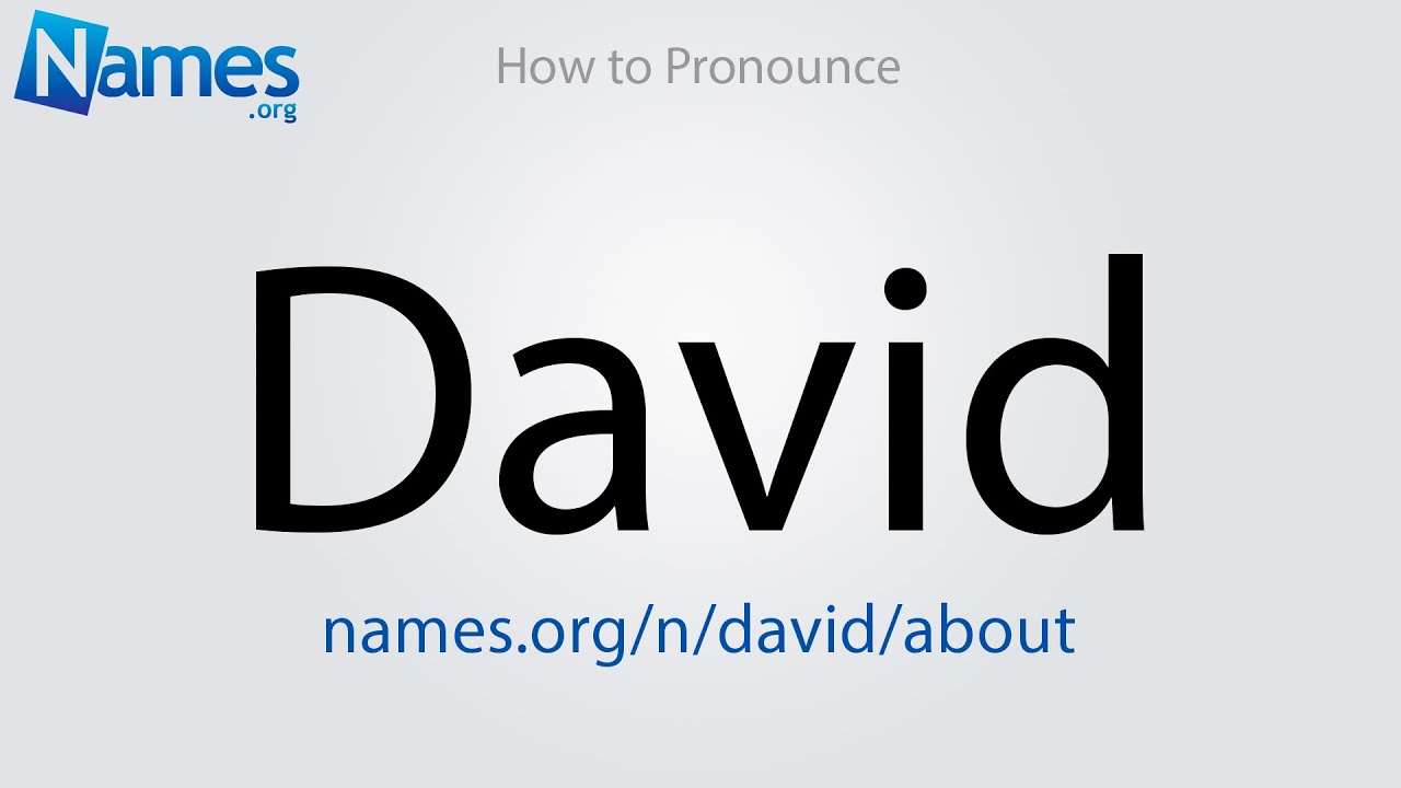 What Does The Name David Mean?
