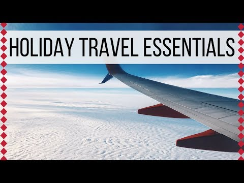 HOLIDAY TRAVEL ESSENTIALS   Wander Wealthy's 12 Days of Christmas