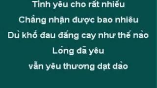 Sao Lòng Còn Thương   Huỳnh Minh Răng