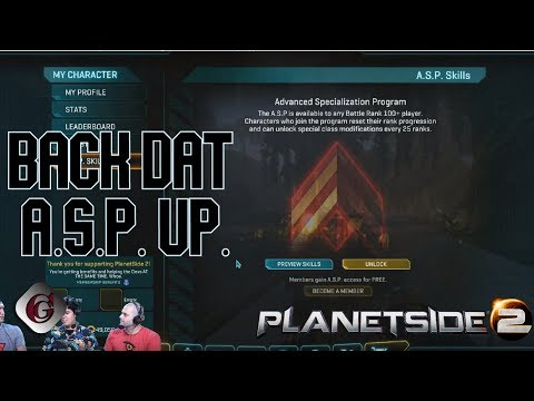 Advanced Specialization Program Stream Review - Planetside 2