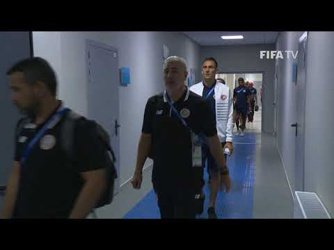 COSTA RICA ARRIVE - MATCH 10 @ 2018 FIFA World Cup™