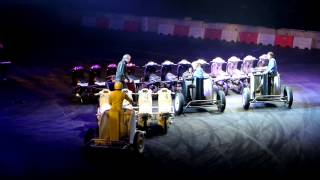Top Gear Live - Moped Chariot Racing