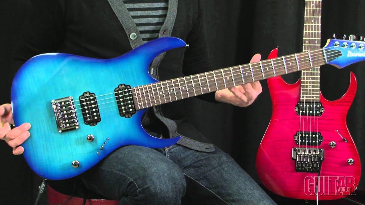Ibanez RG Prestige 10th Anniversary Guitars