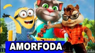 amorfoda - remix bad bunny / talking tom alvin. los minions