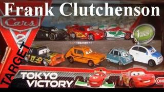 Cars 2 TOKYO VICTORY 7-pack Diecast Frank Clutchenson Target Lightning Mcqueen Grem Gremlin