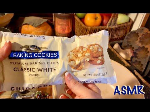 ASMR Baking Cookies (No Talking) Some Birds, Rain, Church Bells 32:43 & On (no Soft Spoken Version)
