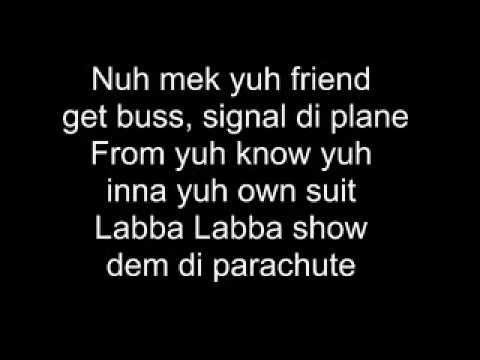Elephant Man - Signal the Plane (Lyrics)